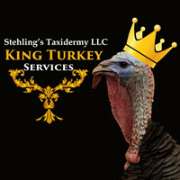 King Turkey Taxidermy Products